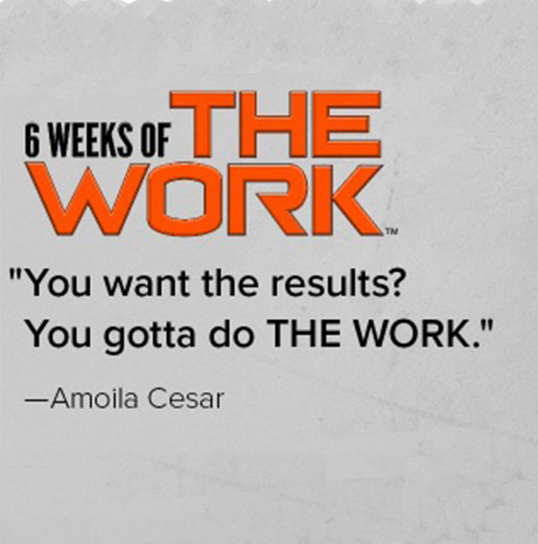 Coming soon: 6 Weeks of THE WORK™ with Amolia Cesar